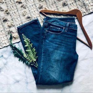 Paige Jimmy Jimmy Crop Denim Jeans (28)
